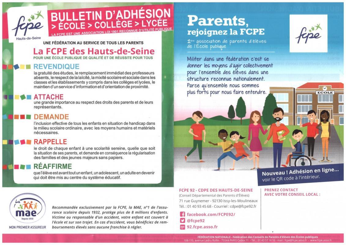 bulletin adhésion page 1
