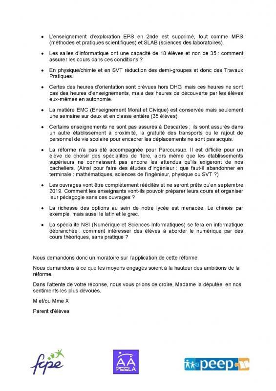 Fcpe Lycée Descartes Antony 92160